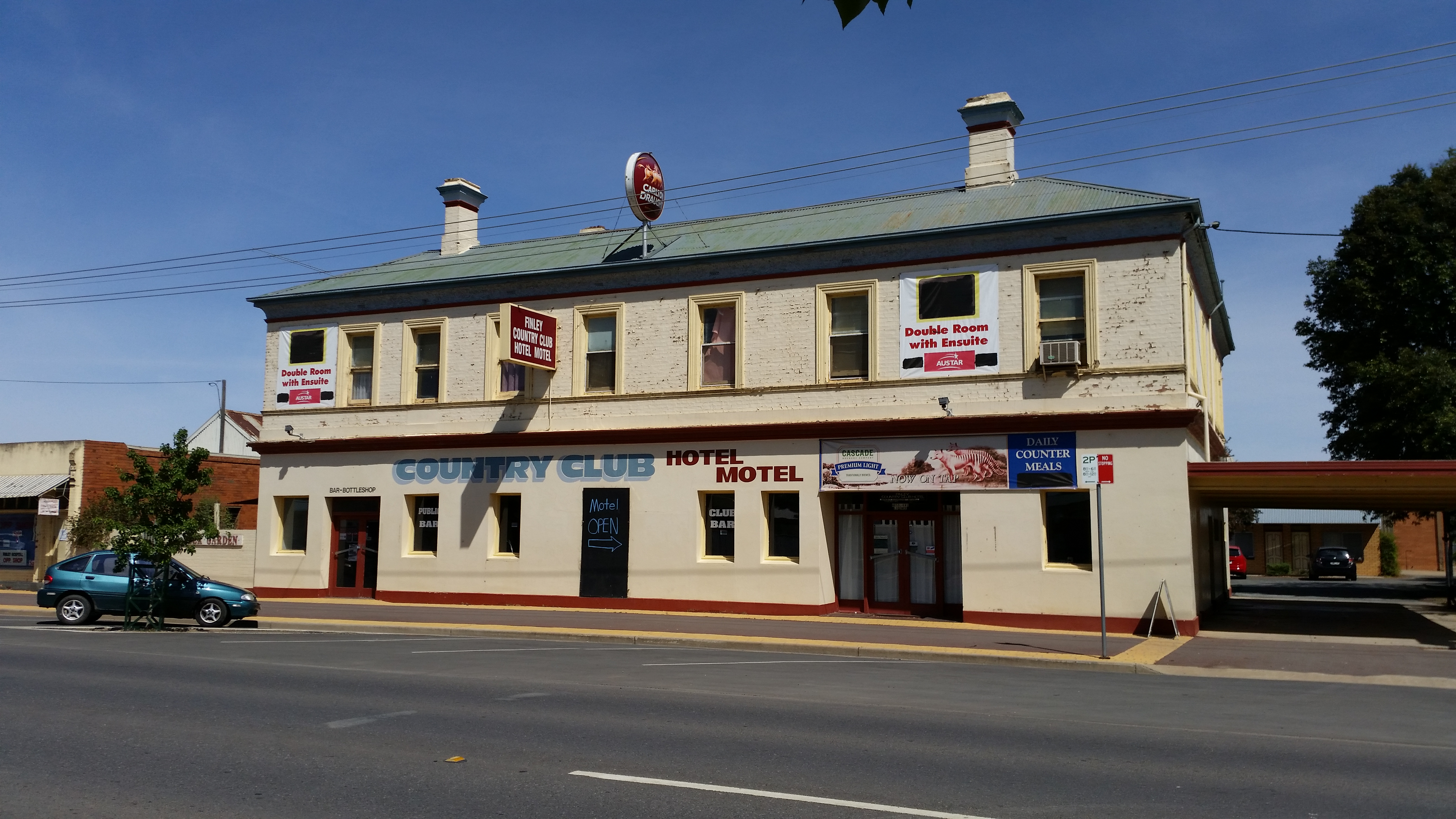 Country Club Hotel Motel - Accommodation Tasmania