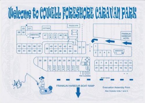 Cowell Foreshore Caravan Park amp Holiday Units - Accommodation Tasmania