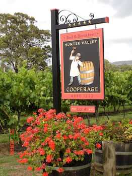Hunter Valley Cooperage BampB - Accommodation Tasmania