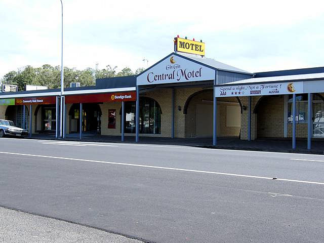 Gin Gin Central Motel - Accommodation Tasmania