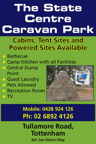 The State Centre Caravan Park - Accommodation Tasmania