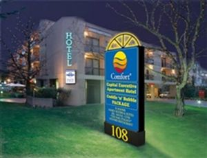 Comfort Capital Executive Apartment Hotel - Accommodation Tasmania