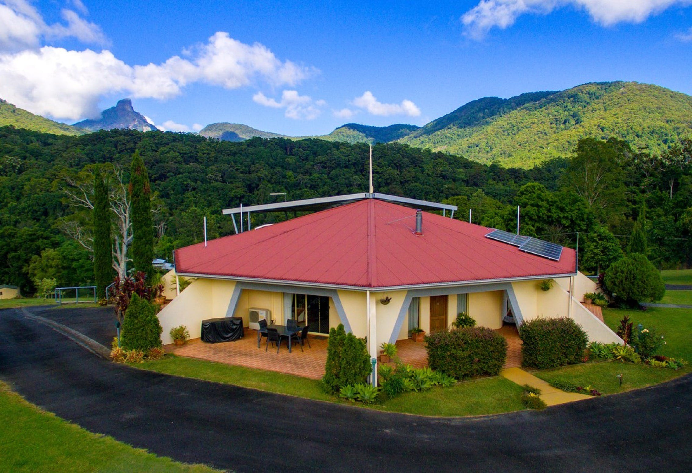 A View of Mount Warning Bed and Breakfast - Accommodation Tasmania