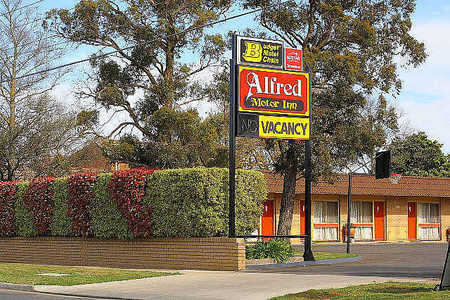 Alfred Motor Inn - Accommodation Tasmania