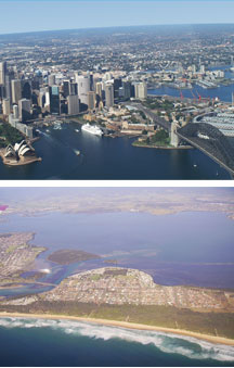 Sydney By Air - Accommodation Tasmania