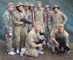 Challenge Paintball  Laser Skirmish - Accommodation Tasmania