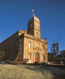 The Albany Town Hall - Accommodation Tasmania