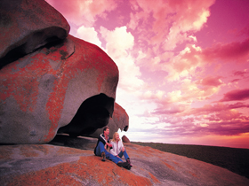 Remarkable Rocks Flinders Chase National Park - Accommodation Tasmania