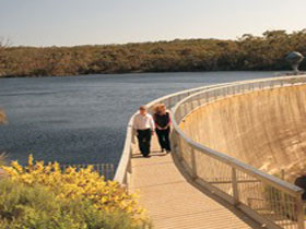 Whispering Wall - Accommodation Tasmania