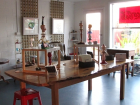 Portside Open Studio/Gallery of GINA - Accommodation Tasmania