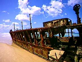 Maheno Shipwreck - Accommodation Tasmania