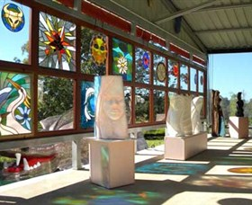 Alpha31 Art Gallery and Sculpture Garden - Accommodation Tasmania