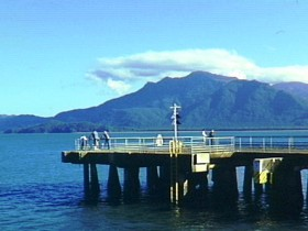Lucinda Jetty - Accommodation Tasmania