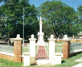 Boonah War Memorial and Memorial Park - Accommodation Tasmania