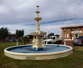 Cunnamulla War Memorial Fountain - Accommodation Tasmania