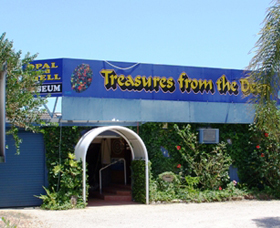 Treasures from the Deep - Opal and Shell Museum - Accommodation Tasmania