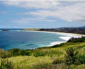 Minnamurra Beach - Accommodation Tasmania