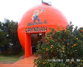 Gayndahs Big Orange - Accommodation Tasmania