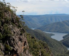 Landers Falls Lookout - Accommodation Tasmania