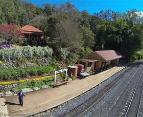 Spring Bluff Railway Station - Accommodation Tasmania
