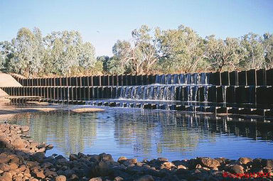 Allan Tannock Weir - Accommodation Tasmania