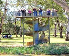 Darling and Murray River Junction and Viewing Tower - Accommodation Tasmania
