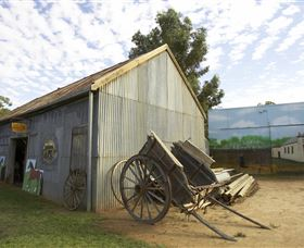 The Ned Kelly Blacksmith Shop