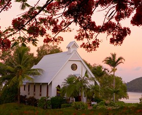 All Saints Chapel - Hamilton Island - Accommodation Tasmania