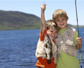 Fishing on Keswick Island - Accommodation Tasmania