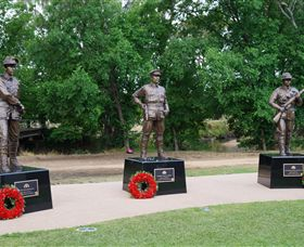 VC Memorial Park - Honouring Our Heroes - Accommodation Tasmania