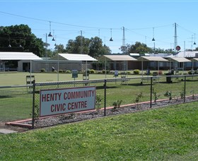 Henty Community Club - Accommodation Tasmania