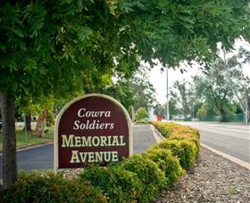 Memorial Avenue in Cowra - Accommodation Tasmania