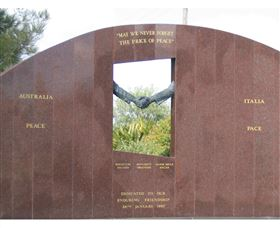 Cowra Italy Friendship Monument - Accommodation Tasmania