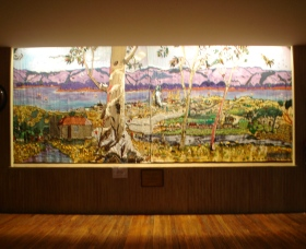 Adaminaby Memorial Hall Stage Curtain - Accommodation Tasmania