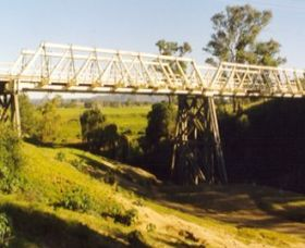 Vacy Bridge over Paterson River - Accommodation Tasmania