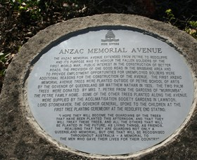 Anzac Memorial Avenue Redcliffe - Accommodation Tasmania