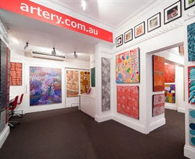 The Artery Aboriginal Art - Accommodation Tasmania