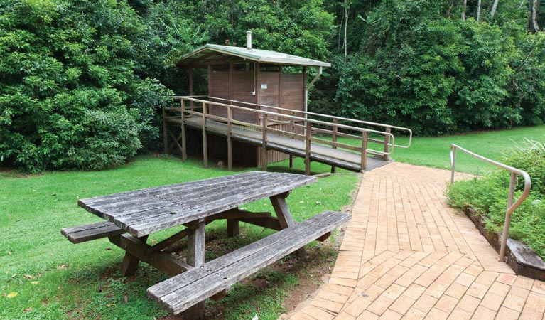 The Glade picnic area - Accommodation Tasmania