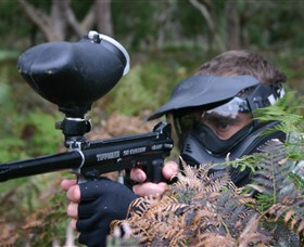 Tactical Paintball Games - Accommodation Tasmania