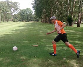 FootGolf at Teven Valley Golf Course - Accommodation Tasmania
