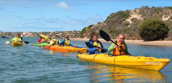 Canoe the Coorong - Accommodation Tasmania