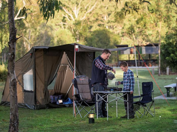 Hardings Paddock Campground - Accommodation Tasmania