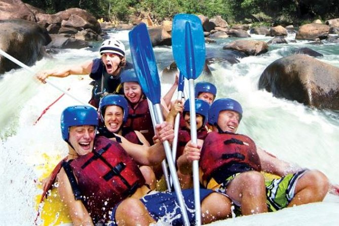 Tully River Full-Day White Water Rafting from Cairns including Lunch - Accommodation Tasmania