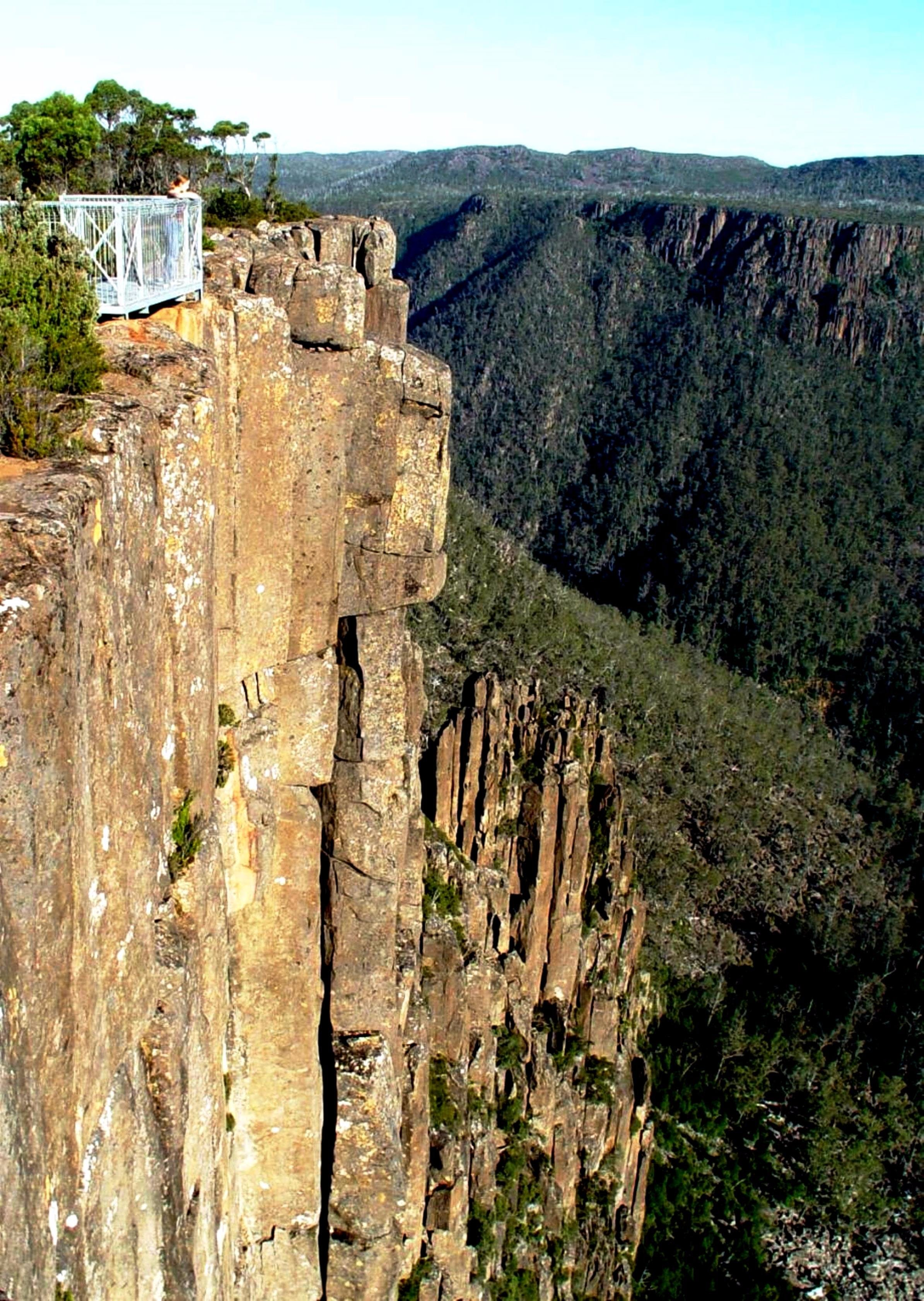 Devil's Gullet - Accommodation Tasmania