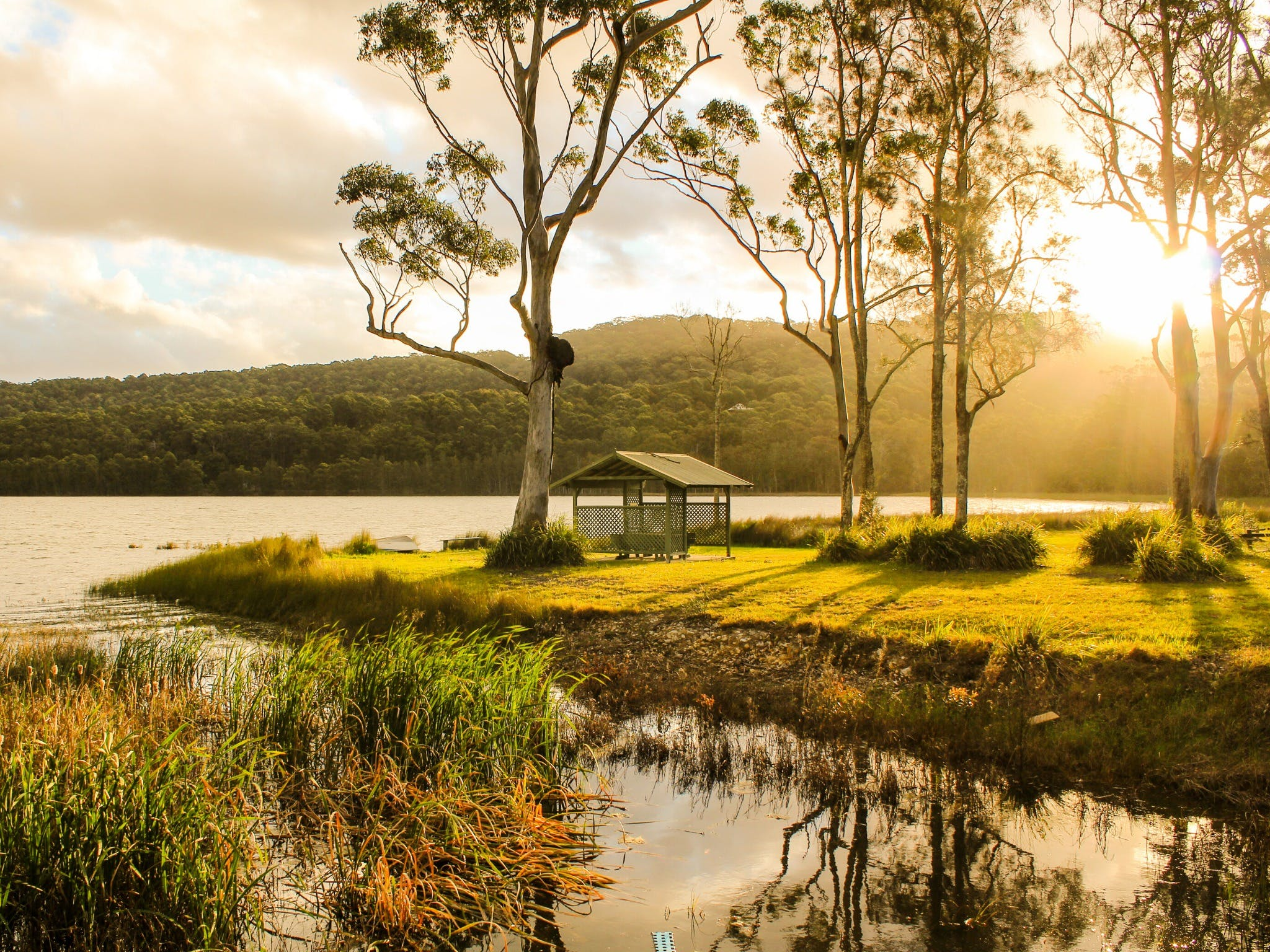 Smiths Lake - Accommodation Tasmania