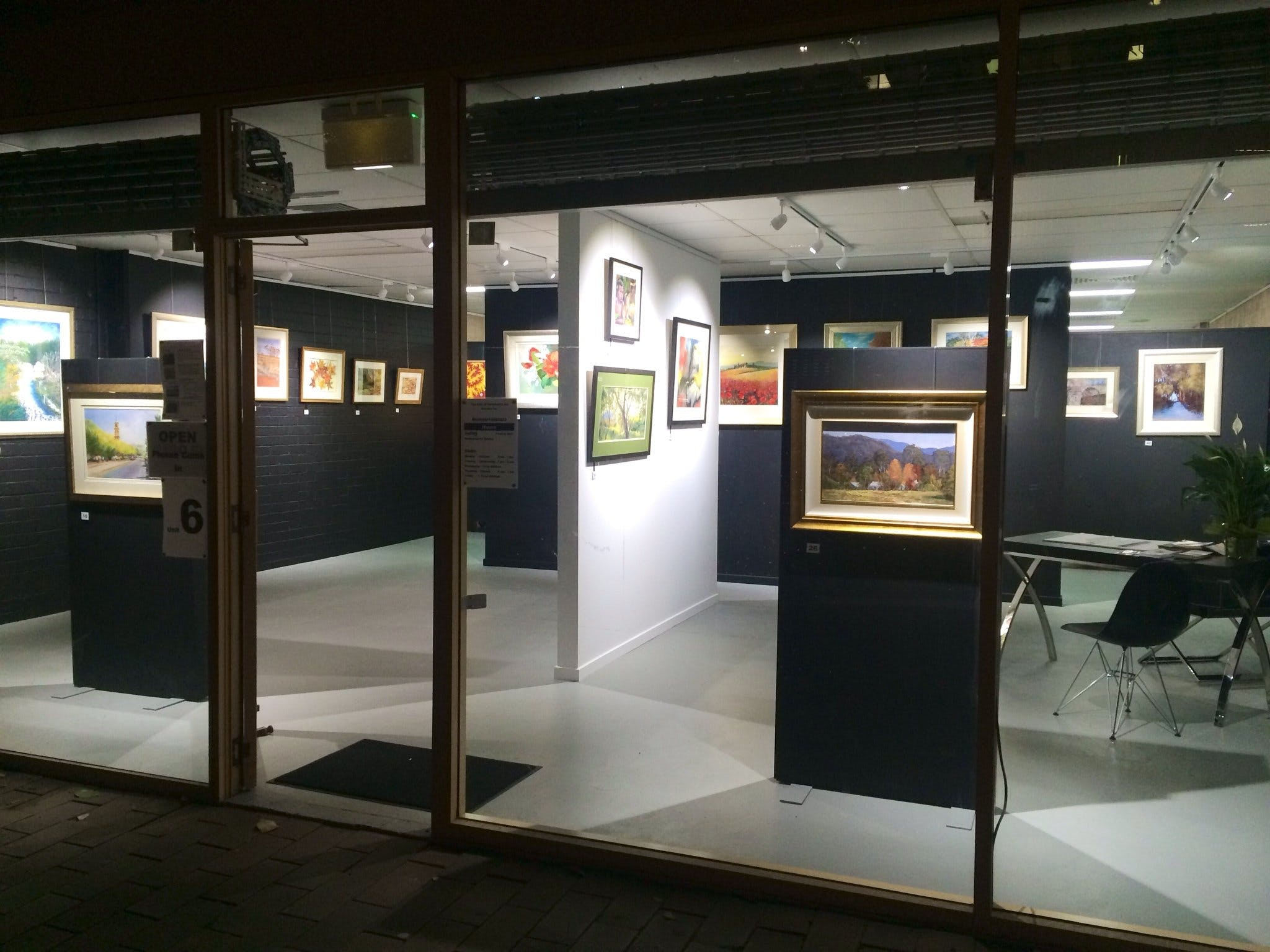 The Hunter Street Gallery of Fine Arts - Accommodation Tasmania