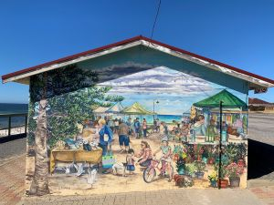 Stansbury Foreshore Murals - Accommodation Tasmania