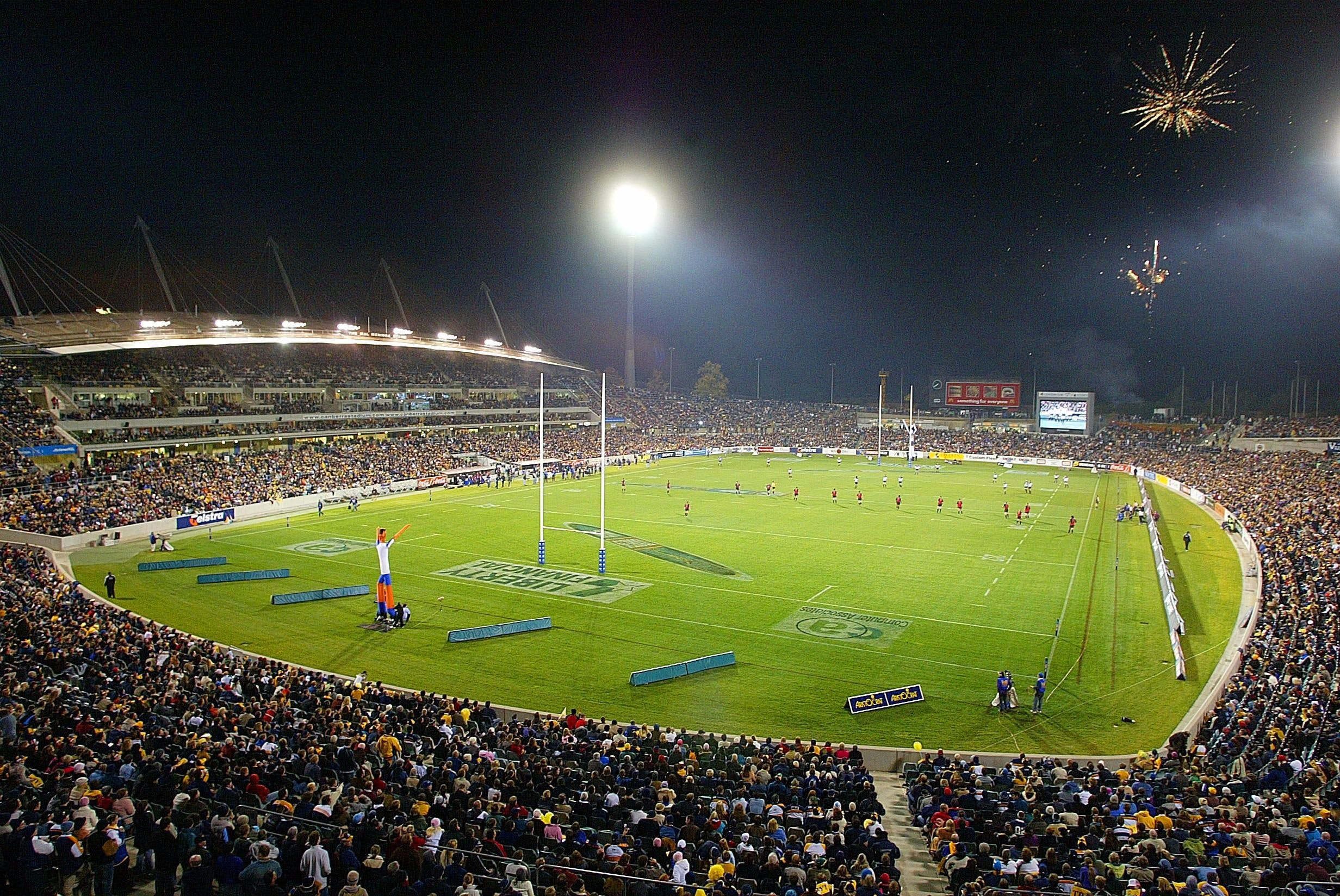 GIO Stadium Canberra - Accommodation Tasmania