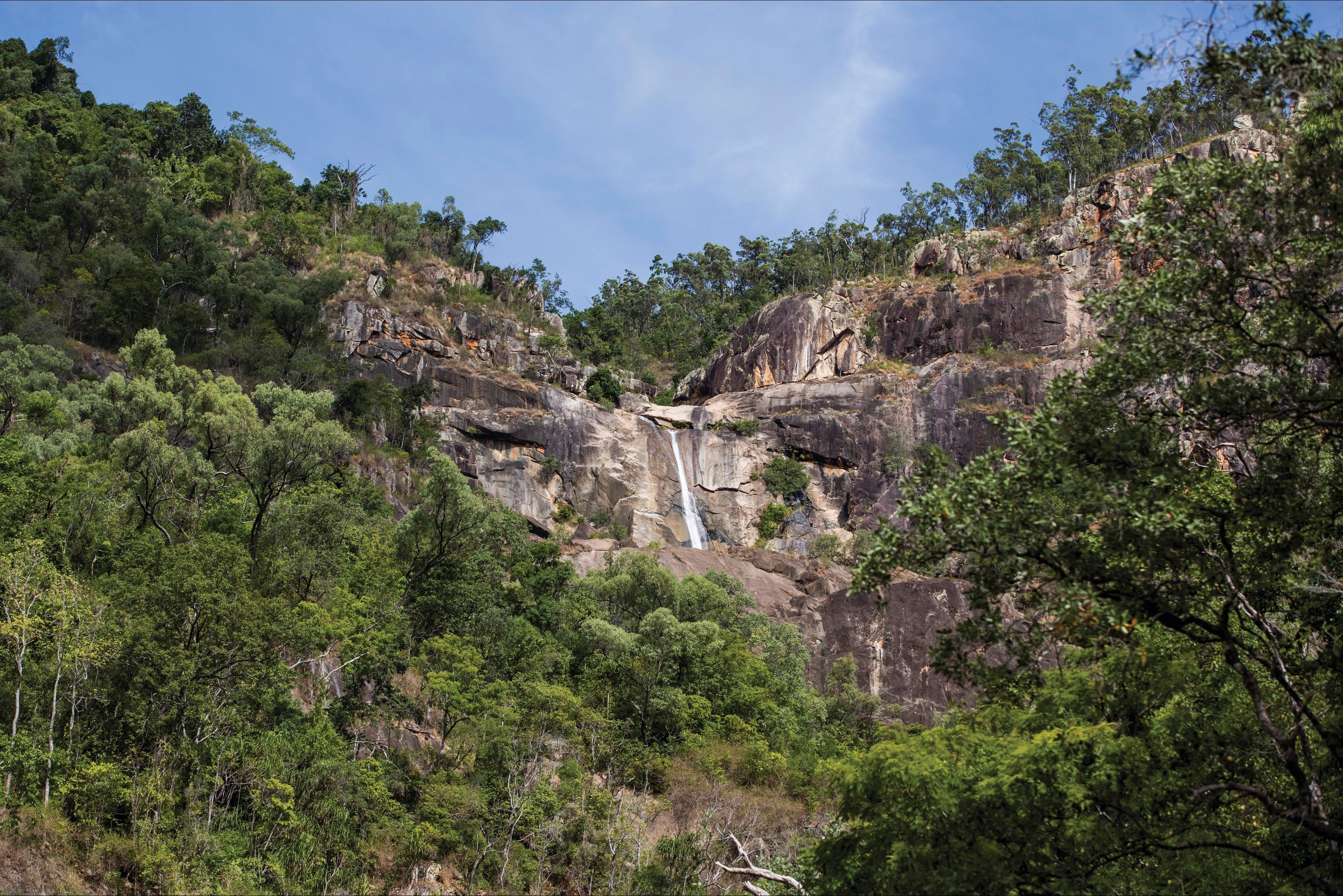 Jourama Falls Paluma Range National Park - Accommodation Tasmania