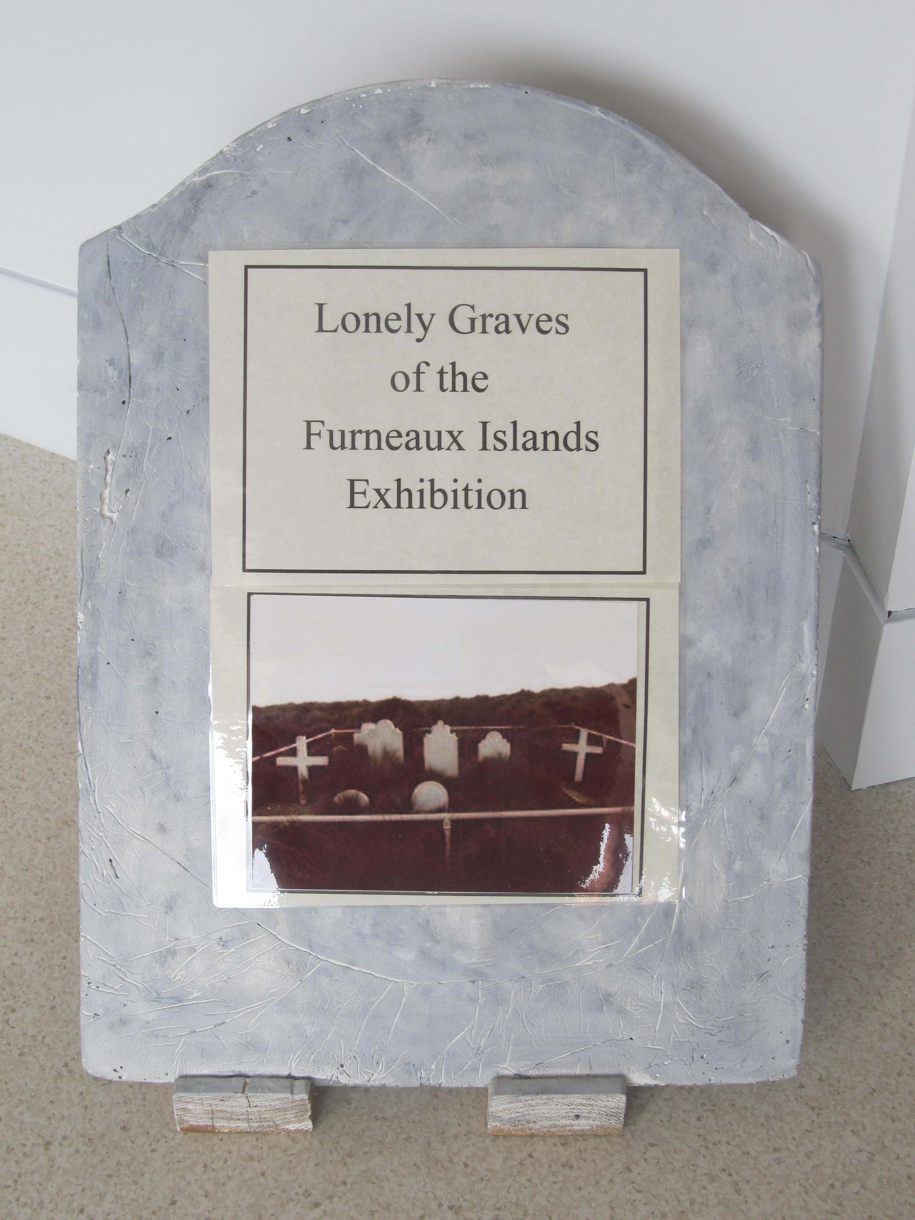 Lonely Graves of the Furneaux Islands Exhibition - Accommodation Tasmania